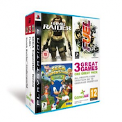 GamesAid Triple Pack Includes Tomb Raider Underworld Sega Superstars Tennis Fuel Game PS3