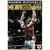 WWE - Shawn Michaels - Mr. WrestleMania DVD 3-Disc Set
