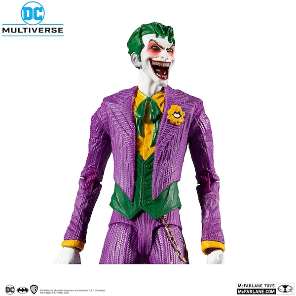 McFarlane Toys DC Multiverse The Joker: DC Rebirth Action Figure