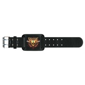 Bullet For My Valentine - Two Pistols Leather Wrist Strap