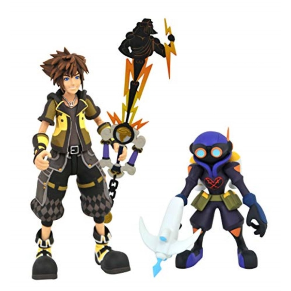 Guardian Sora with Air Soldier (Kingdom Hearts 3) Series 2 Diamond Select 7 Inch Action Figure