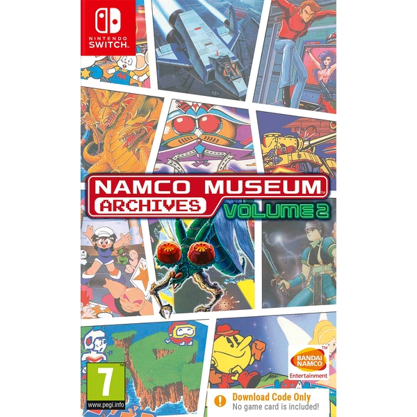 Namco Museum Archives Volume 2 Nintendo Switch Game [Download Code In A Box]