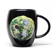Rick And Morty Portal Oval Mug