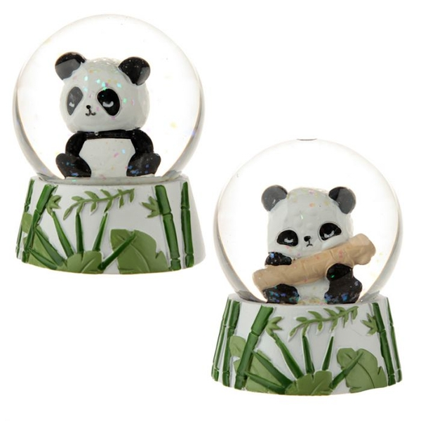 Novelty Panda Snow Globe (1 Random Supplied)