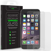 Caseflex iPhone 6 / 6s Glass Screen Protector - 2 Pack