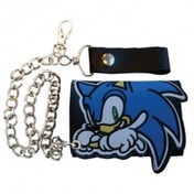 Sonic The Hedgehog Shaped Sonic Chain Wallet