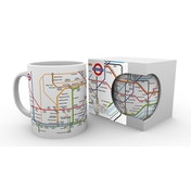 Transport For London Underground Map Mug