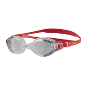 Speedo Futura Biofuse Flexiseal Goggles Red/Clear Adult