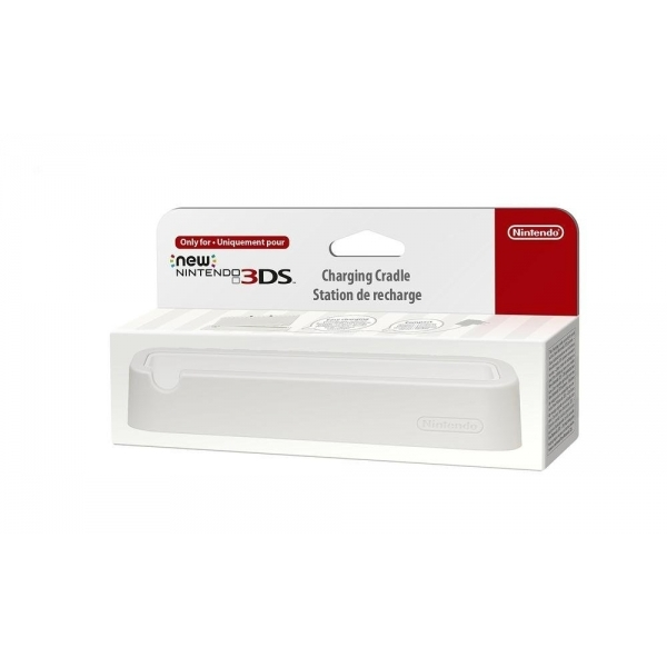 New Nintendo 3DS Charging Cradle White