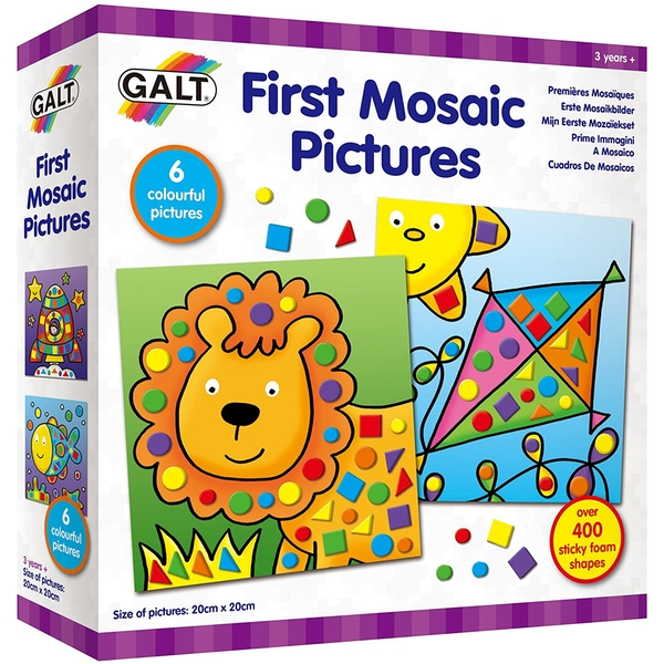 First Mosaic Pictures Play & Learn Toy