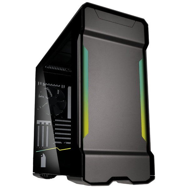 Image of Phanteks Enthoo Evolv X Digital Midi Tower Glass Gaming Case - Gunmetal Grey