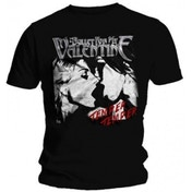 BFMV Temper Temper Kiss Black T Shirt: X Large