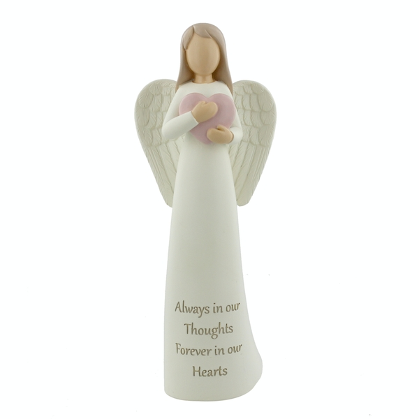 Thoughts Of You 'Always In Our Hearts' Angel Figurine