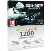 Call Of Duty Black Ops Branded 1200 Microsoft Points Xbox 360