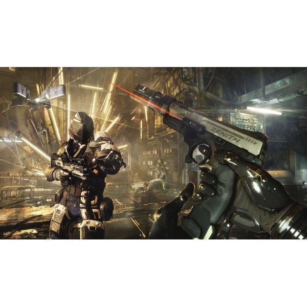 Deus Ex Mankind Divided Day One Edition PS4 Game - Image 3