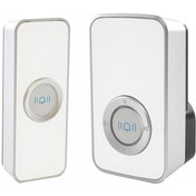 Lloytron B7505WH 32 Melody Mains Plug-in Wireless Door Chime with MiPs White