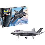 F-35A Lightning II Lockheed Martin Level 4 1:72 Revell Model Kit