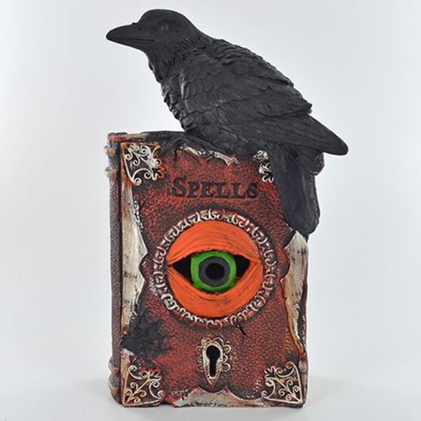 Spell Book with LED Ornament