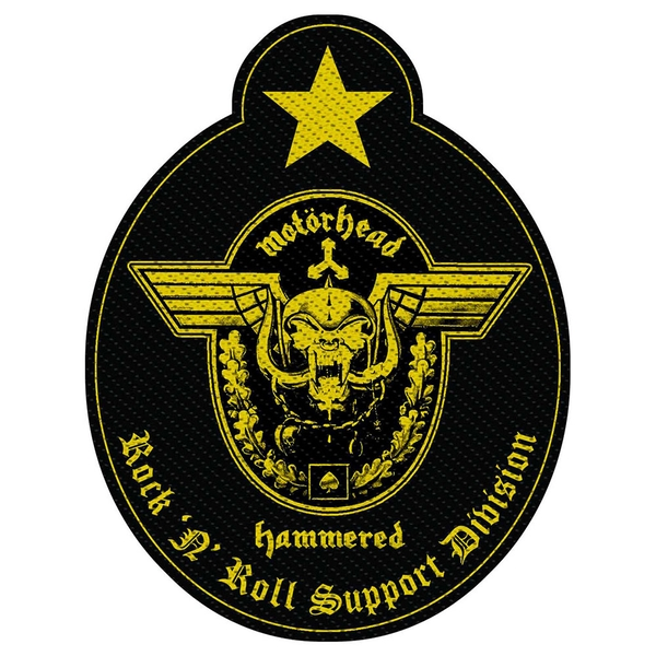 Motorhead - Support Division Cut-Out Standard Patch