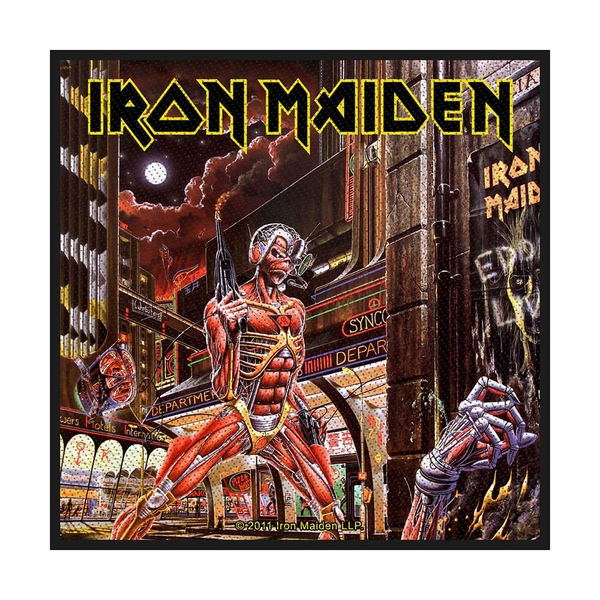 Iron Maiden - Somewhere Back In Time Standard Patch