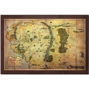 The Hobbit The Map of Middle-Earth 16 X 12 Inch
