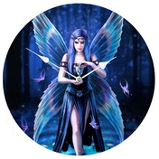 Anne Stokes Enchantment 34cm Clock