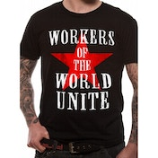 Cid Originals - Workers Of The World Men's Medium T-Shirt - Black