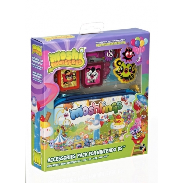 Moshi Monsters Moshlings 6-in-1 Accessory Kit 3DS/Dsi/DS Lite - Image 2