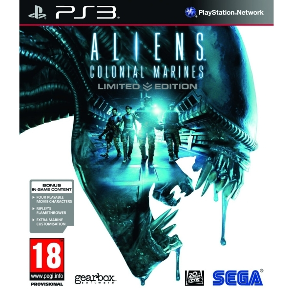 Aliens Colonial Marines Limited Edition PS3 Game - Image 1