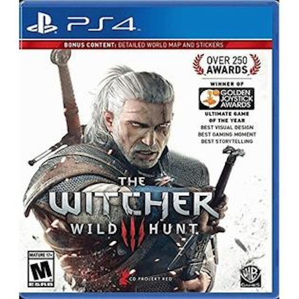 The Witcher 3 Wild Hunt PS4 Game (#)