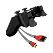 Gioteck Play & Charge Pack Includes Triggers PS3