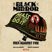 Ben Salisbury and Geoff Barrow - Black Mirror: Men Against Fire (Picture Disc Edition) Vinyl