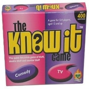 The Know It Game Comedy & TV Board Game