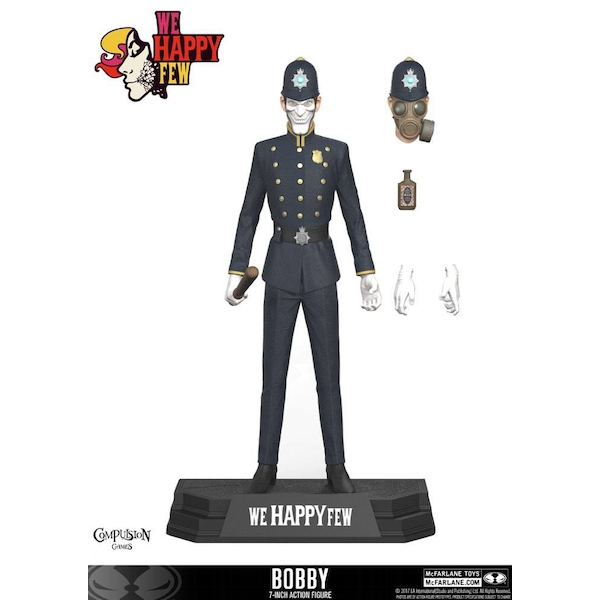 Bobby (We Happy Few) Action Figure