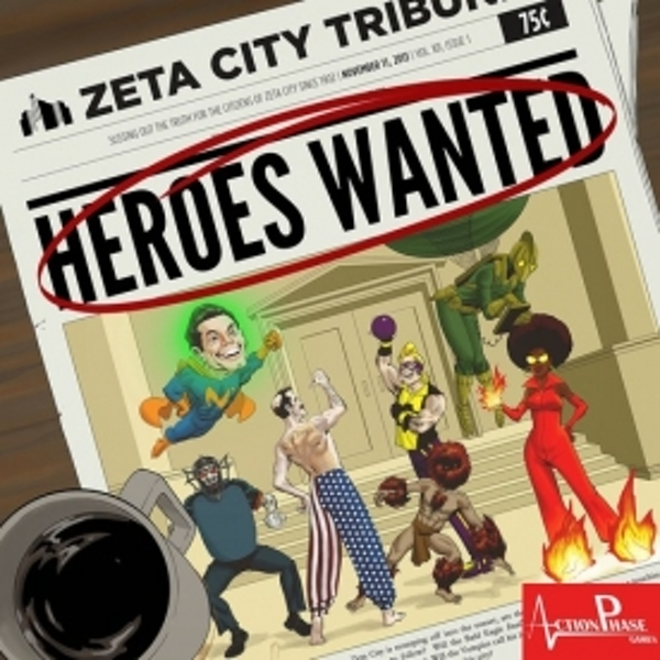 Heroes Wanted Board Game