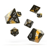 Oakie Doakie Dice RPG Set Enclave (Amber)