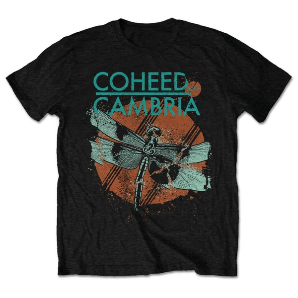 Coheed And Cambria - Dragonfly Unisex XX-Large T-Shirt - Black