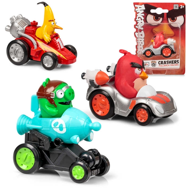 Angry Birds Crasher Toy Car (1 At Random)