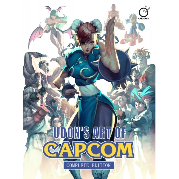 UDON's Art of Capcom Complete Edition Hardcover