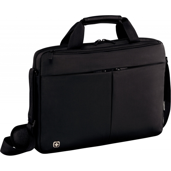 Wenger Format 16inch Laptop Slimcase with Tablet Pocket Black - Image 1