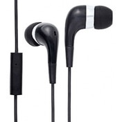 Groov-e Mobile Buds Stereo Earphones with Microphone (Black)