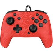 PDP Face off Deluxe Switch Controller and Audio (Camo Red/Orange) for Nintendo Switch