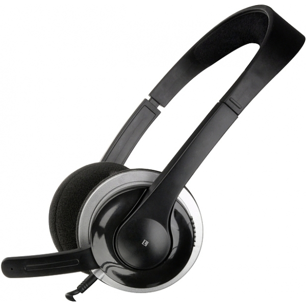 SPEEDLINK Snappy Stereo Headset Black SL-8729-SBK
