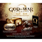 God Of War Ascension Collector's Edition Game PS3