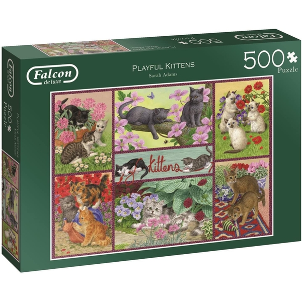 Falcon Playful Kittens  Jigsaw Puzzle - 500 Pieces