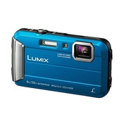 Panasonic Lumix DMC-FT30EB-A Waterproof Action Camera Blue (16 MP, 4x Optical Zoom)