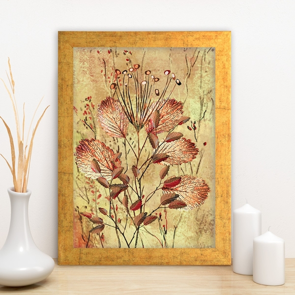 AC11677165092 Multicolor Decorative Framed MDF Painting