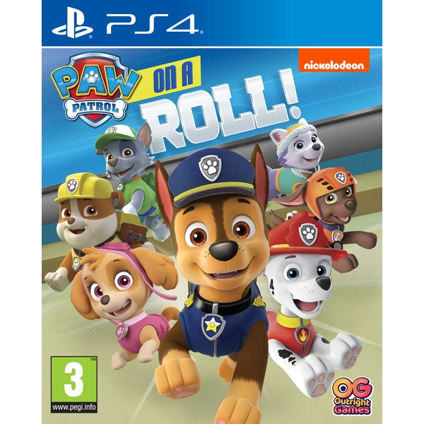 PAW Patrol On a Roll PS4 Game