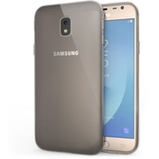 Samsung Galaxy J3 (2017) Slim TPU Gel Case - Smoke Black