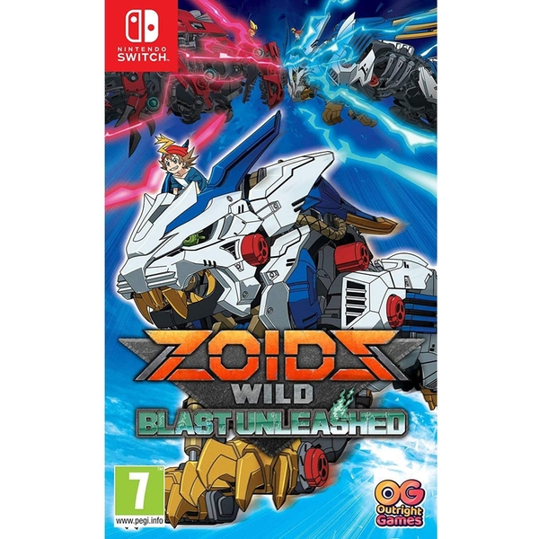 Zoids Wild Blast Unleashed Nintendo Switch Game
